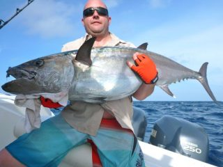 60kg dogtooth tuna fishing