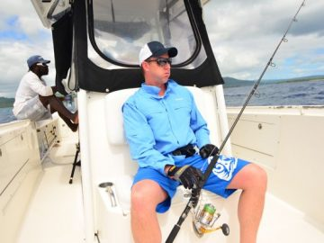 Brett Lee's fishing experience in Vanuatu