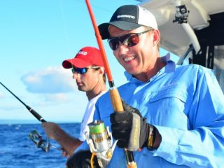 Brett Lee Ocean Blue Fishing experience