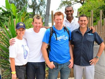 friends of Brett Lee at Trees and Fishes
