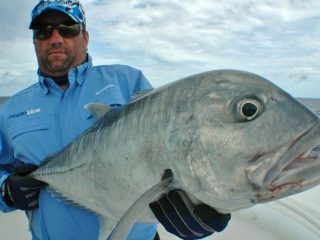 Nelson Dueza's crew caught GT fish