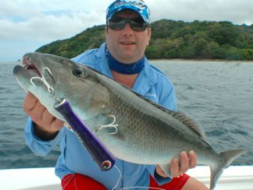 Coral trout fishing
