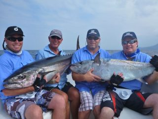 David Green's crew enjoys Vanuatu fishing