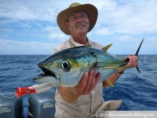 tuna fishing by Toby Browne's mates