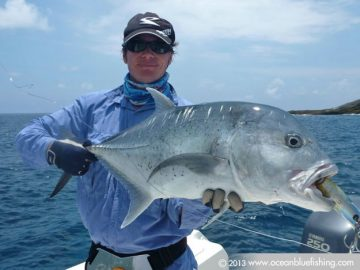 We love chasing GTs and dogtooth tuna