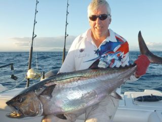 david's crew on dogtooth tuna fishing