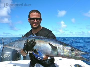 this dogtooth tuna is exciting to catch