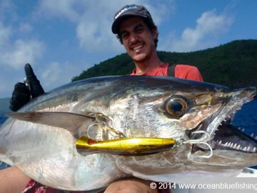 my first time to catch a dogtooth tuna