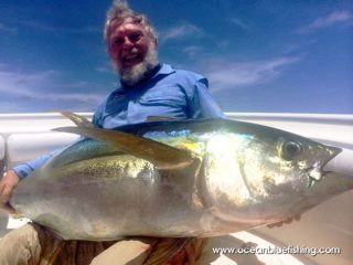 Steven and Ken Hunt caught yellow fin tuna