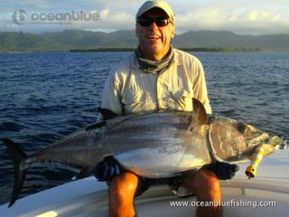 Alan Morrison Mothership Trip: medium sized dogtooth tuna