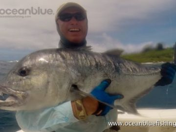 Alan Morrison Mothership Trip: gt fishing adventure