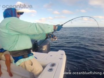 Alan Morrison Mothership Trip: couple angler in action