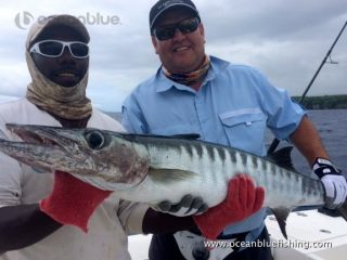 Ocean Blue guest Glenn Vandewater's fishing adventure