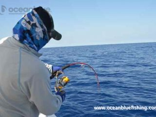 Ocean Blue fishing experience
