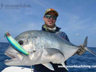 GT fishing experience at Ocean Blue
