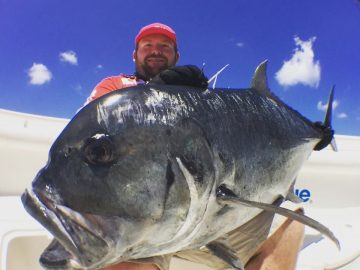 Nick hamilton smith from simrad australia with his trophy GT