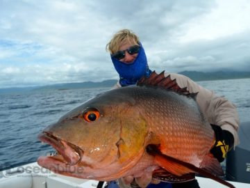 five fishing adventurers - red bass fishing