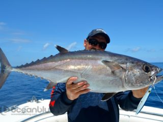dogtooth fish catch by Hayley Bonnici's crew