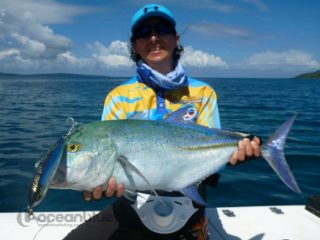 Shefishes on Giant Trevally fishing