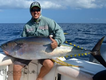 Vanuatu Big Yellowfin Fishing11.