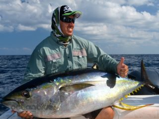 Vanuatu Big Yellowfin Fishing12.