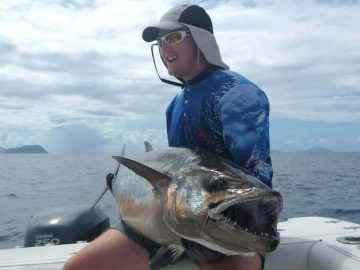 gibbs and crew catch a dogtooth tuna