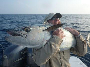 60 kg dogtooth fishing