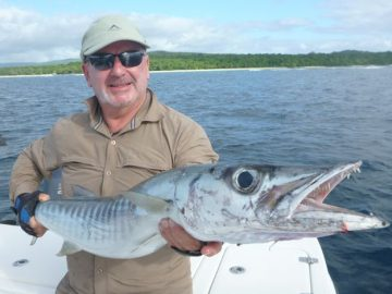 winter fishing for big barracuda