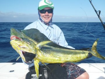 winter fishing for mahi mahi
