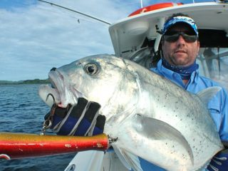 GT fishing by Nelson Dueza's crew