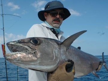 Dogtooth Tuna caught by Nelson Dueza's crew