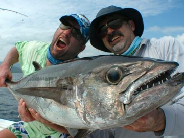 Nelson Dueza's crew caught dogtooth