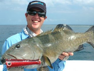 Nelson Dueza's crew caught coral trout