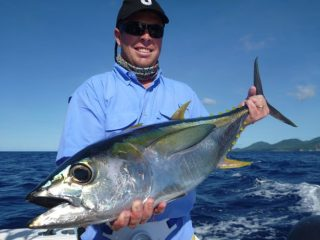Vanuatu actual dogtooth fishing