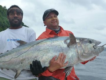 big dogtooth tuna fishing Vanuatu