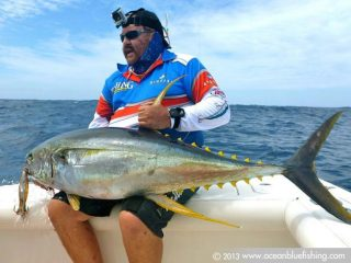 yellow fin tuna fishing in Vanuatu