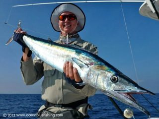 Mark Varnam's marlin fishing