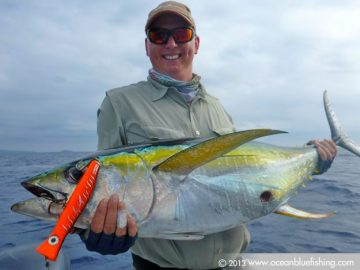 Mark Varnam's yellowfin fishing