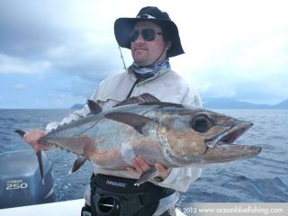 This dogtooth tuna is heavy