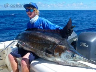 my first ever blue marlin catch!