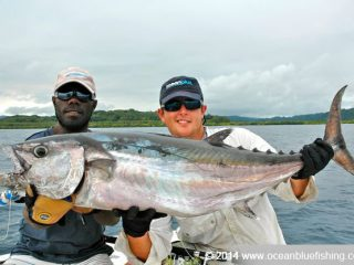 Vanuatu sea is rich of dogtooth tuna