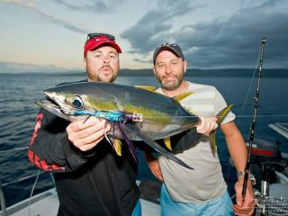 anglers enjoy this yellow fin