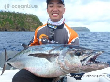 dogtooth tuna and angler