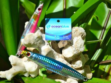 ocean blue fishing lure