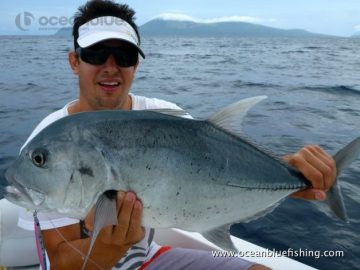 gt fish caught in vanuatu by this angler