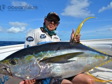 big yellowfin tuna
