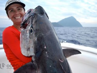 huge fish catch by Hayley Bonnici's crew