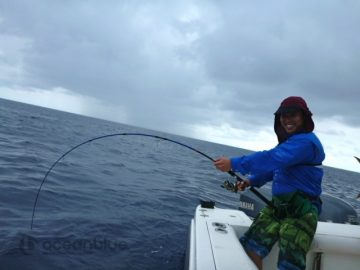 yellowfin strike