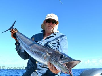 bluewater fishing for wahoo