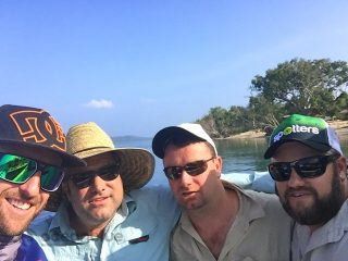 fishing in vanuatu with friends